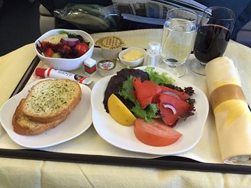 Private Jet Inflight Meals