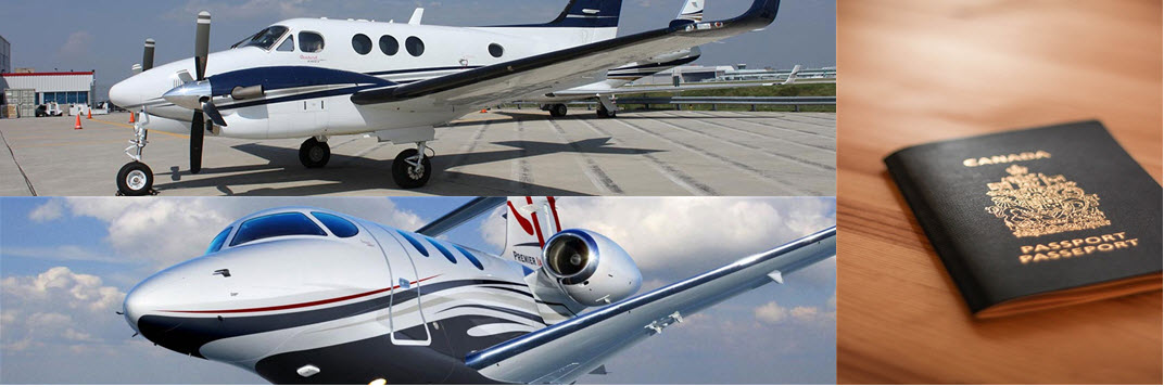 Private Jets Customs and Immigration